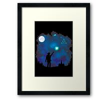 Tri-Force of Nature Framed Print