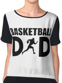 Basket Ball Dad Chiffon Top