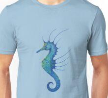 Aqua Seahorse Unisex T-Shirt