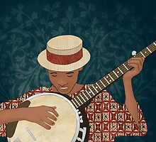 Banjo by Janet Carlson