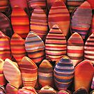Slippers in the Marrakech souk by Glen Ladegaard AUSTRALIA
