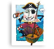 Humpty Dumpty the Pirate Canvas Print