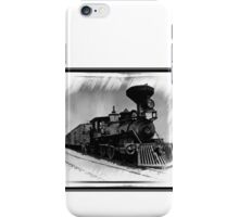 DOWN THE LINE iPhone Case/Skin
