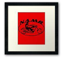 N.A.M.R cruiser Framed Print
