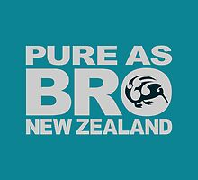 Pure as BRO | New Zealand by piedaydesigns