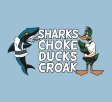 Sharks Choke and Ducks Croak - Light by Knight The Lamp
