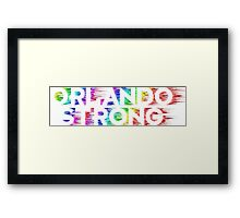 Orlando Strong Shirts, Bumper Stickers & Cups Framed Print