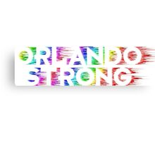 Orlando Strong Shirts, Bumper Stickers & Cups Canvas Print