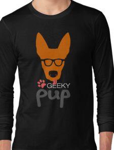 Geeky Pup Long Sleeve T-Shirt