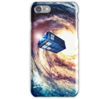Tardis Nebula Vortex iPhone Case/Skin