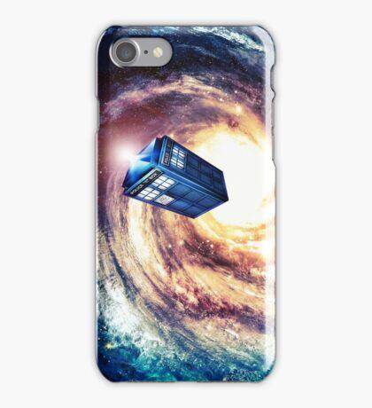 Tardis Nebula Vortex iPhone Case/Skin