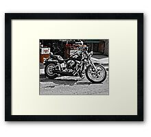 TIME FOR A RIDE Framed Print