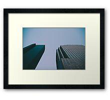 Houston Sky Framed Print