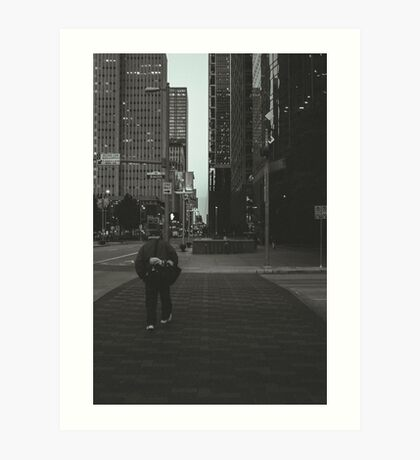 The Crosswalk Art Print