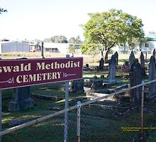 Historic Oswald Cemetery, Lochinvar NSW Australia by SNPenfold