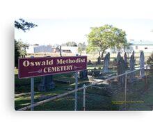 Historic Oswald Cemetery, Lochinvar NSW Australia Metal Print