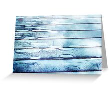 Rear Window Lily Pond Greeting Card