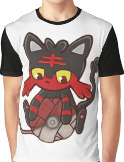 Litten's Ball of Yarn Graphic T-Shirt