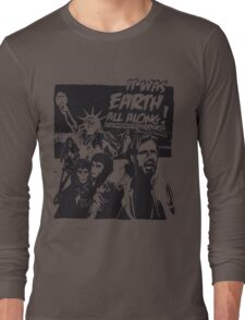 Planet of the Apes  Long Sleeve T-Shirt