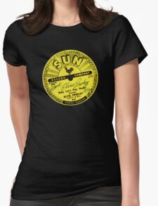 Sun Records Womens Fitted T-Shirt