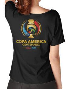 COPA AMERICA CENTENARIO USA 2016 LOGO FRTR Women's Relaxed Fit T-Shirt