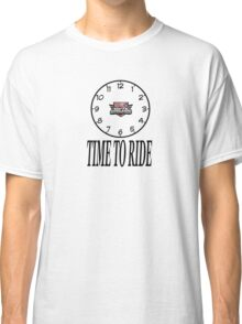 South Adelaide Motorbike Group Time to Ride Classic T-Shirt