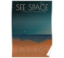 See Space: Mars Poster