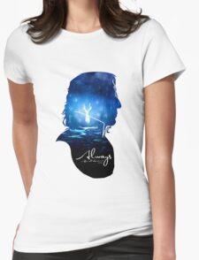 alan rickman Womens Fitted T-Shirt
