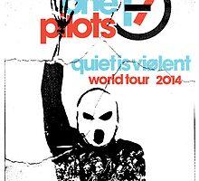 Quiet is violent tour by Tucker Stosic