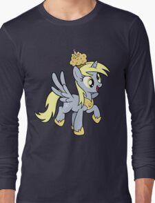 Derpy the Muffin Queen Tshirt Long Sleeve T-Shirt