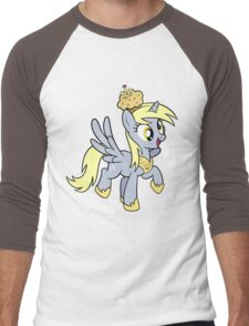 Derpy the Muffin Queen Tshirt Men's Baseball ¾ T-Shirt