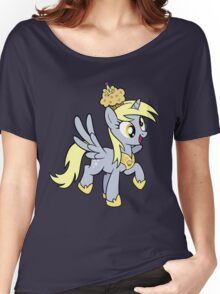 Derpy the Muffin Queen Tshirt Women's Relaxed Fit T-Shirt