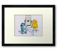 Adventure Wars Framed Print
