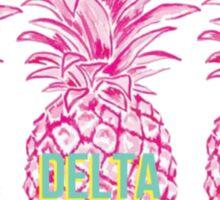 Pineapple Sigma Delta Tau Sticker