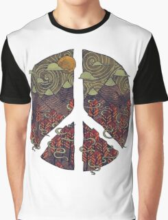 Peaceful Landscape Graphic T-Shirt