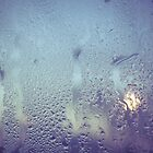 Water Drops on Glass by AnnArtshock