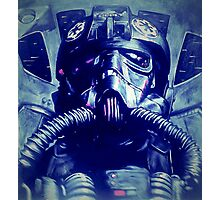 TIE fighter pilot  Photographic Print