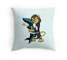 Heimlich for San Jose - Sharks choke Throw Pillow