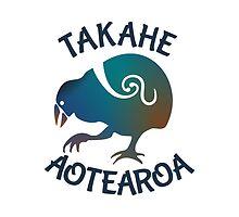 Aotearoa Takahe by piedaydesigns