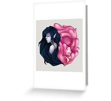 Marceline X Bubblegum Greeting Card