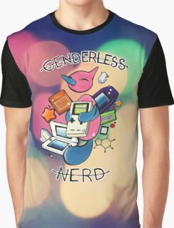 #474 Porygon Z - Genderless Nerd Graphic T-Shirt