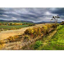 Rural Landscape - Derwent Valley, Tasmania Photographic Print