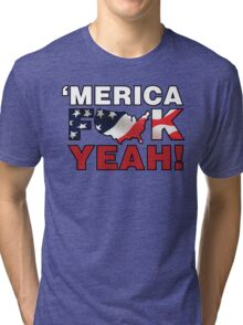 'MERICA Tri-blend T-Shirt