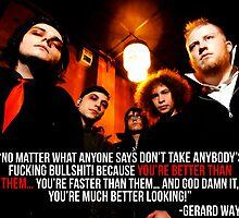 Gerard Way Quote #6 by xdangerline