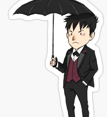 Oswald Cobblepot 2 Sticker
