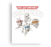 Briliant Mind Ninja Canvas Print