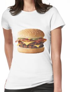 Cheeseburger  Womens Fitted T-Shirt