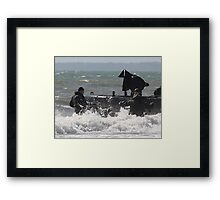 Man Down Framed Print