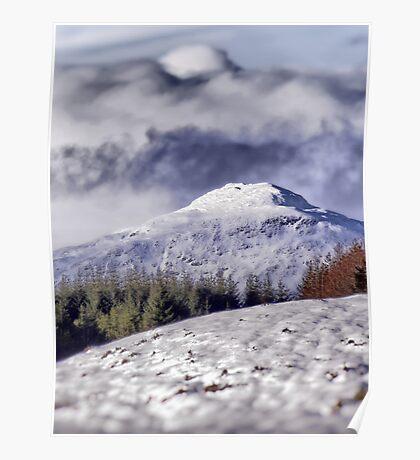 Snowtop Hills Poster
