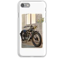 1927 Vintage A-J-S Motorcycle  iPhone Case/Skin
